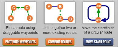 New Route Plotting Functions