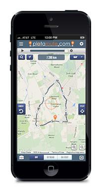 plotaroute.com Mobile Route Planner