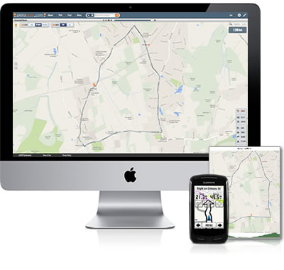Free bike route planner, running route planner, walking route planner
