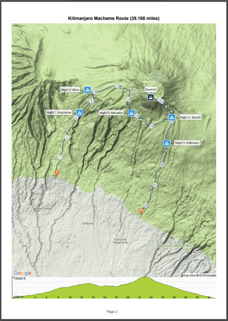 PDF printed map