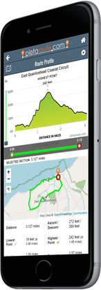 New Route Profile Tool for Mobile Devices