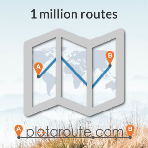 One million routes mapped on plotaroute.com