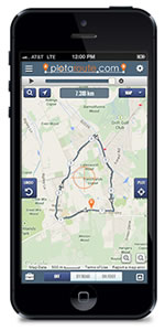 plotaroute.com Mobile Route Planner
