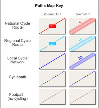 Cycle Maps Key